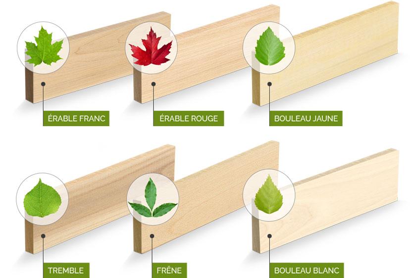 Transformateur de bois franc de haute qualité pour différents usages